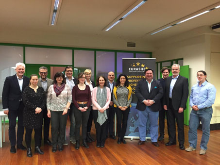 The first project kick off meeting took place in Brussels On 11-12 February,
